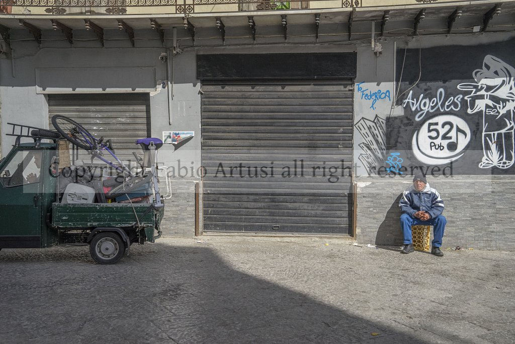 Ape Piaggio, Something more than a means of transport. Palermo.